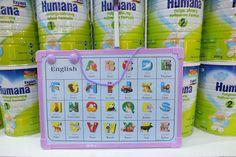 Tặng ngay 1 bảng vẽ xinh xắn cho bé khi mua Humana Expert