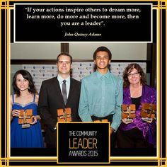 Nominations close soon! Don't forget to nominate your Community Leader for one of our Awards!  #theleaders2015