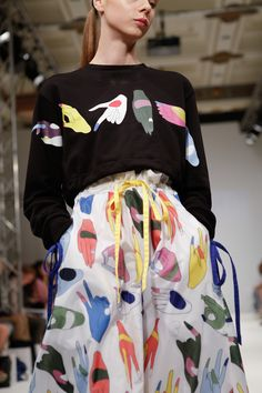 Mirella Bruno Visual Acoustics & Pattern Pollinating Visionist — davydovafashion: Anton Belinskiy London Fashion...
