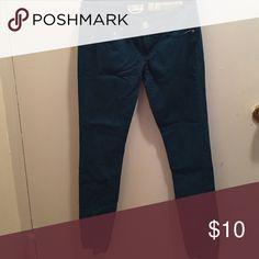 Hunter green size 1 skinny jean Skinny Jean Jeans Skinny