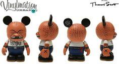Disney Vinylmation Urban 7 Disturbz 3 inch Figurine