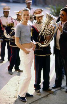 Kate Moss - Arthur Elgort -June 1994 issue
