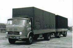 Mercedes Benz. Aanhanger.