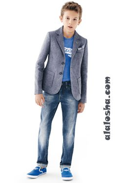 ALALOSHA: VOGUE ENFANTS: Armani Junior SS'14 Boys collection