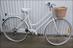 Bicycle: This retro designing of a bike can still be found around in the modern era, but the low dipping frame bar and basket front have long since past in popularity. --- 2015