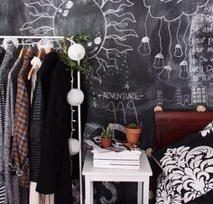 Chic Grunge Bedroom More