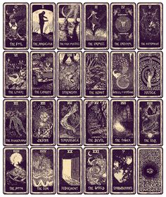 eads Major Arcana Tarot Cards