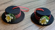 frosty the snowman hat ornaments - how tos