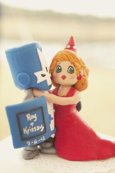 Castle Crashers Wedding Topper by Krissay20