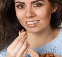 Here are the 25 best foods that you should consume to get that flawless healthy skin you've always wanted. Foods For Healthy Skin, Smoothies, Good Food, Skin Care, Almond, Skincare Routine, Smoothie, Skincare, Almond Joy