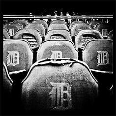 Old Detroit Tiger Seats.