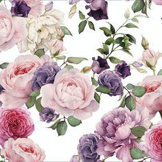Vintage Floral Wallp