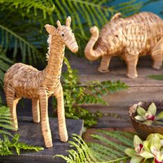 Bangkuan Decorative Animals ~ Hand-Crafted by artisans in Philippines via www.worldmarket.com #CRAFTBYWORLDMARKET