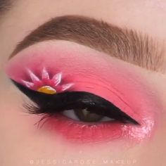 Everyday before work 🙋 tag someone who can relate. video makeup makeup video shadow shadow colors eye makeup tutorial look make up brushes guide Beautiful Flower Makeup Eye Makeup Blue, Colorful Eye Makeup, Eye Makeup Art, Cute Makeup, Makeup Inspo, Eyeshadow Makeup, Makeup Inspiration, Beauty Makeup, Pastel Goth Makeup