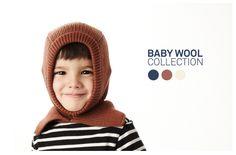 BABY knitted HOOD | 100%knitwear #sartoriavico #baby #wool #designtowear #allyouneediswool #rusty