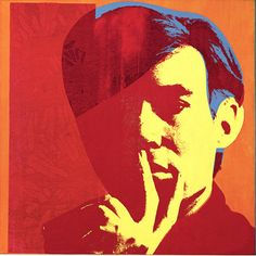 Andy Warhol, Self-Portrait.