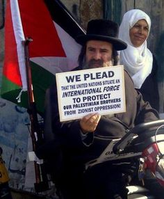 Jews against Zionism.  The differences between: the zionist, the Israeli, the Jew