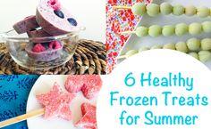 6 Healthy Frozen Treats for Summer