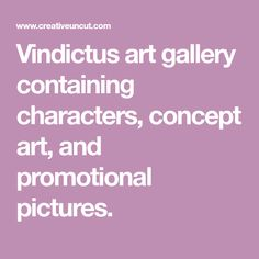 Vindictus art gallery containing characters, concept art, and promotional pictures.