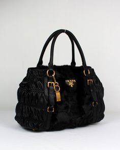 Prada Outlet Carved Hair And Lambskin Bags With Black Click Image To Close Purses