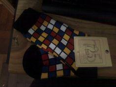 (Kinda Mondrian) Socks
