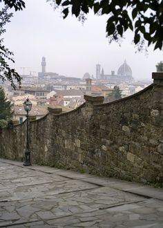 The Duomo in the distance, Firenze, Italy by Carla Coulson
