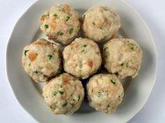 Recette Boulettes de pommes de terre au bleu façon knödel, notre recette Boulettes de pommes de terre au bleu façon knödel - aufeminin.com