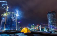 Rooftop Camping by Harald Roman on 500px