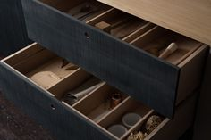 """Sebastian Cox's """"urban rustic"""" kitchen for DeVol features sawn and woven timber 