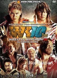 DVD NJPW Wrestling WRESTLE KINGDOM TOKYO DOME 2016 Shinsuke Nakamura AJ Styles