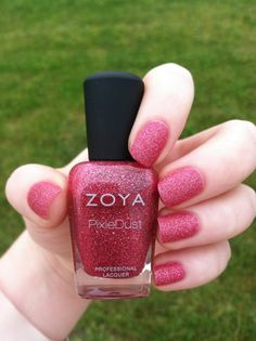 Feeling extra girly with Zoya PixieDust in Miranda! H