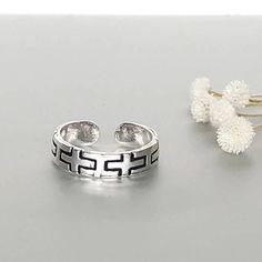 Shop unique handmade goods from OneYellowButterflyy. Silver Toe Rings, Cross Patterns, Manish, Ethical Fashion, Artisan, Wedding Rings, Engagement Rings, Boho, Handmade