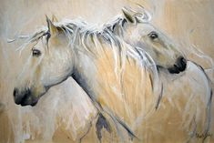 Finished...but actually I am just beginning. Horse Painting by Texas Artist Laurie Pace