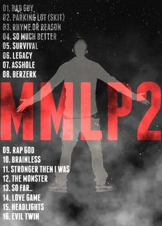 Marshall Mathers LP2. I'm sooooo happy about this album!!!!!!!!!!!