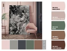 Instantly turn any picture into a palette with ColorSnap, created for you by Sherwin-Williams. Modern Color Schemes, Paint Color Schemes, Bedroom Color Schemes, Colour Pallete, Bedroom Colors, Wall Colors, House Colors, Paint Colors, Pallet Painting