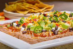 Easy Layered Taco Dip