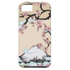 Fuji and Sakura - Japanese Design Iphone case iPhone 5 Case