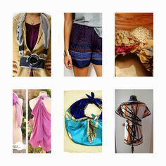 donneinpink- risparmiare col fai da te: Riciclare i foulard- La moda fai da te