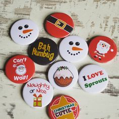 Our Xmas badges are now in stock so if you're getting organised early this year then you need to check them out