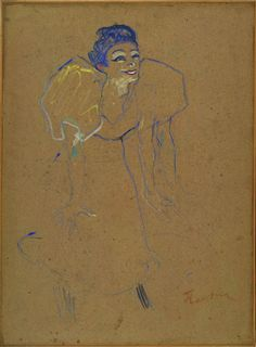 Mademoiselle Polaire . Toulouse-Lautrec Van Gogh, Henri De Toulouse-lautrec, Monet, Picasso, Plastic Art, Traditional Paintings, Art History, Printmaking, Illustration Art