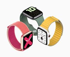 In addition to three iPhone 11 variants and iPad Apple also unveiled Apple Watch Series With an always-on Retina display, the smartwatch lets you Android Wear, Android Watch, Apple Watch Series 3, Smart Watch Apple, Apple Watch Fashion, Apple Watch Models, Latest Smartwatch, Apple Iphone, Iphone 11