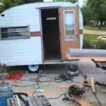 Ideas Repair Small Campers Classic Travel Trailer, If you're going to be residing in your camper fulltime, then you want to be certain that you track down an RV that's right for your lifestyle and your..., #campers #classic #ideas #repair #small #trailer #travel Vintage Caravans, Vintage Trailers, Vintage Campers, Camper Trailers, Travel Trailers, Slide In Camper, Travel Camper, Small Campers, Large Bathrooms