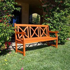 Balthazar Eco Friendly Hardwood Bench
