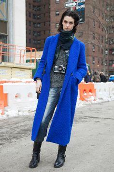 Trend - 2014-15年秋冬NYコレクション会場スナップ Part1。