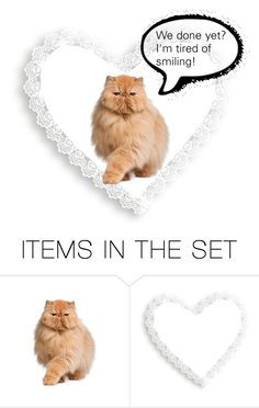 """""""I Love Cats!"""" by rboowybe ❤ liked on Polyvore featuring art"""