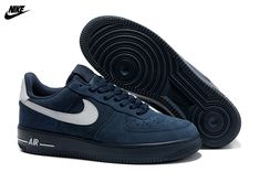 new products 4e869 0f16d Buy Nike Air Force 1 Low Hombre Anti-Fourrure Deep Azul Blanco (Nike Air  Force 1 Low Hombre) New Release from Reliable Nike Air Force 1 Low Hombre  ...