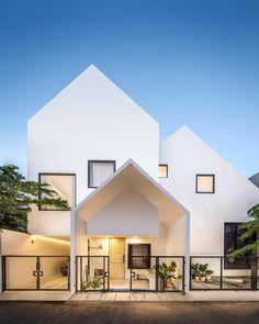 Super Minimalist Home Design Exterior Ideas Architecture Résidentielle, Minimalist Architecture, Architecture Sketchbook, Architecture Graphics, Victorian Architecture, Architecture Student, Architecture Portfolio, Minimalist House Design, Modern House Design