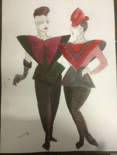 80's. Bohemian couple.  Anette Werenskiold Bohemian, Couples, Drawings, Painting, Art, Art Background, Painting Art, Boho, Kunst
