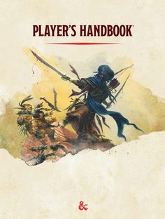 D&D 5.0 Player's Handbook - Interior Cover | Book cover and interior art for…