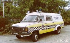 Essex Police called on the services of a Ford Transit 4x4 County Conversion to help patrol the M11 and M25,